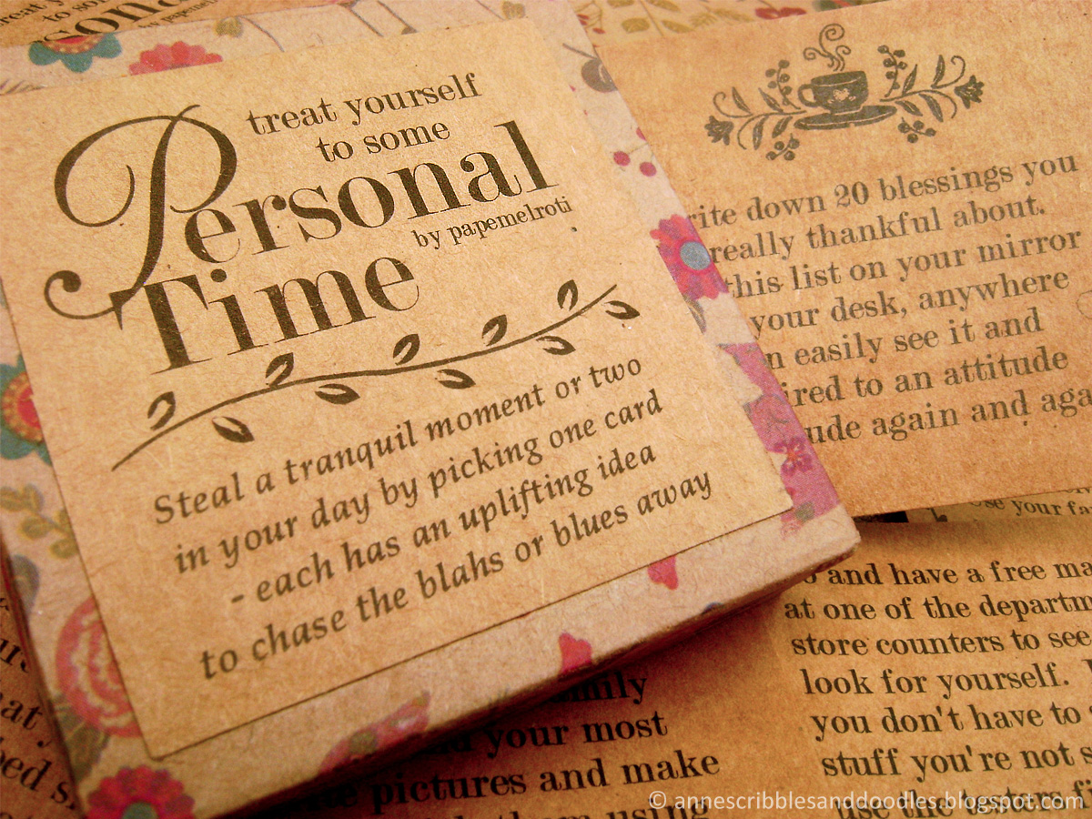 Papemelroti Personal Time Paper Pack