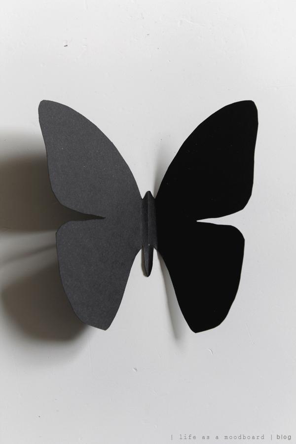 Life as a moodboard diy cardboard butterflies for White paper butterflies