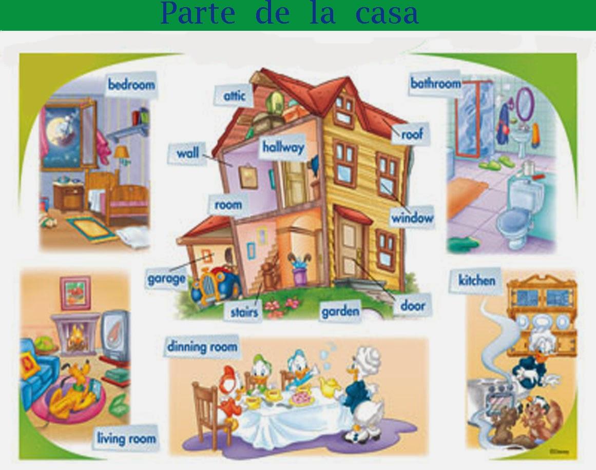 The gallery for calendario diciembre 2014 - Partes de la casa en ingles para ninos ...