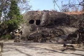 Klotok mountain cave in Kediri.