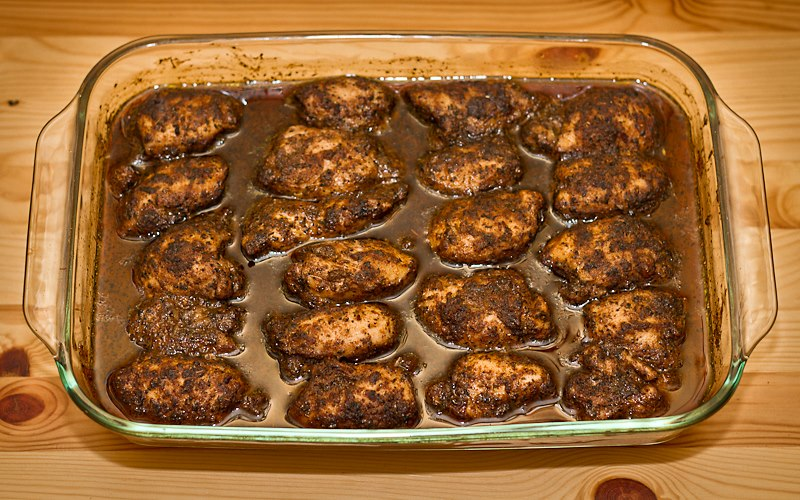 Upper Spice Recipes: Jamaican Jerk Chicken Thighs