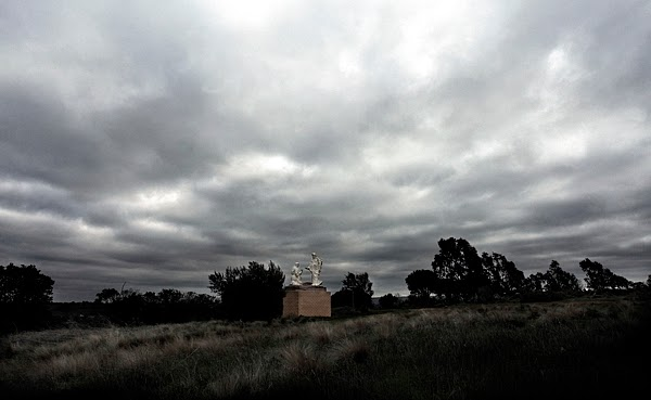 sculpture Bacchus Marsh