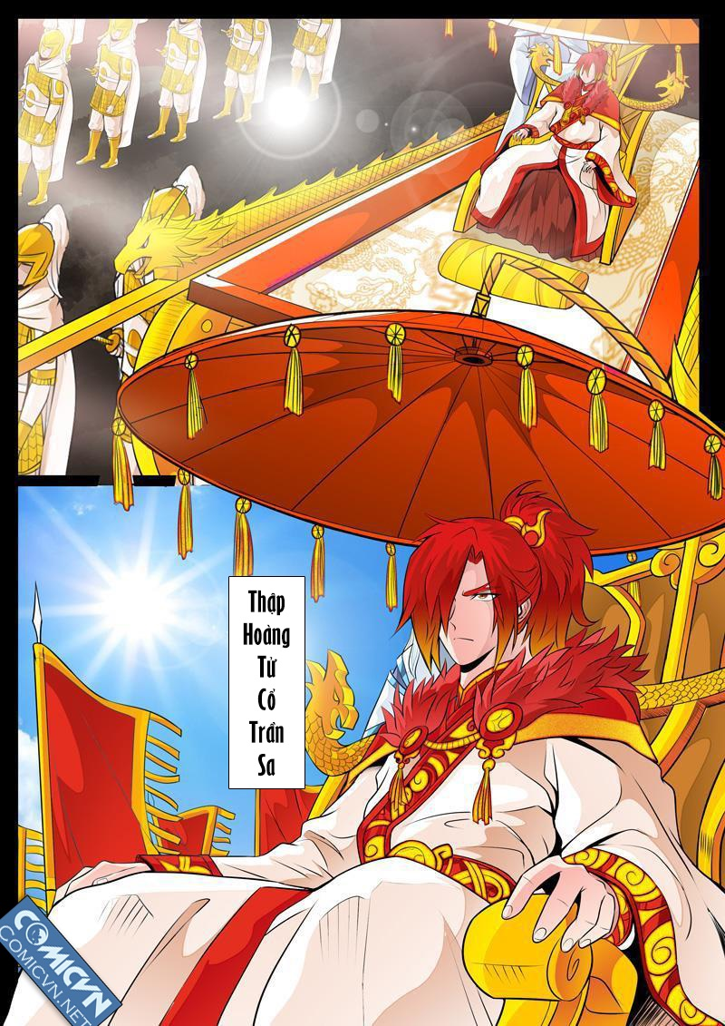 Long Phù Chi Vương Đạo Thiên Hạ - Chap 55