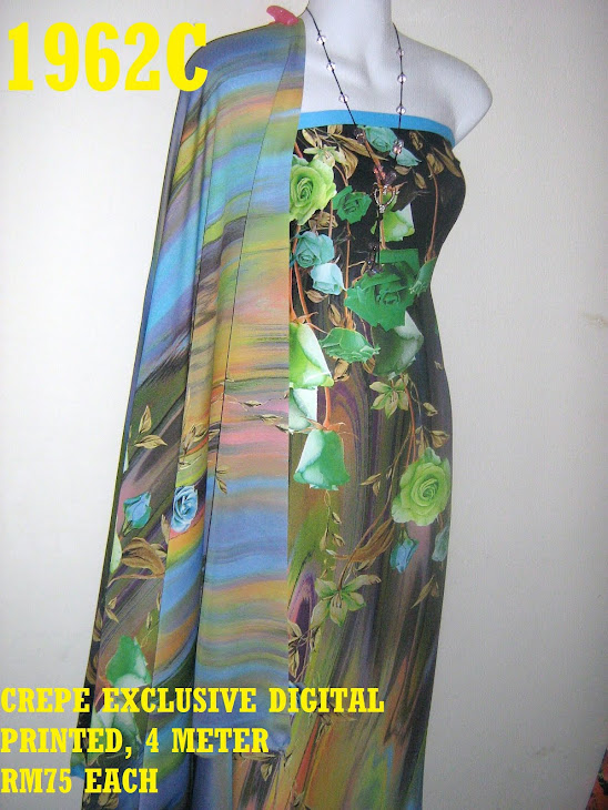 CDP 1962C: CREPE EXCLUSIVE DIGITAL PRINTED, 4 METER