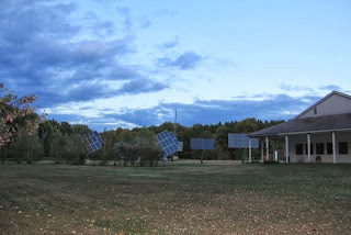 Audubon North Woods energy array