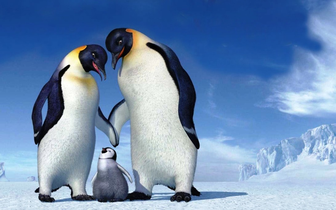 Happy Feet Gambar