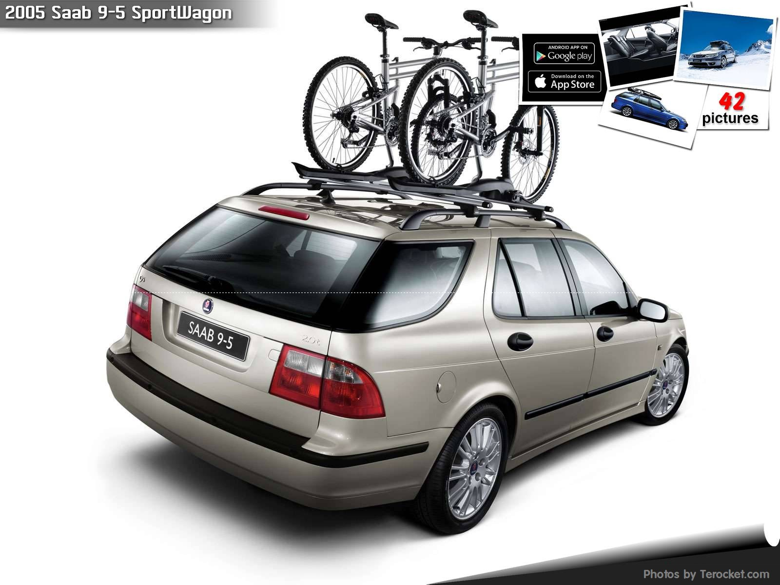 Hình ảnh xe ô tô Saab 9-5 SportWagon 2005 & nội ngoại thất