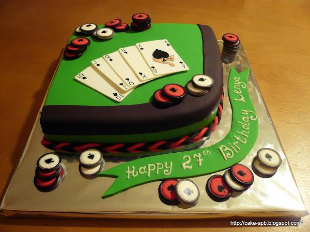 Играть в торт на день рождения