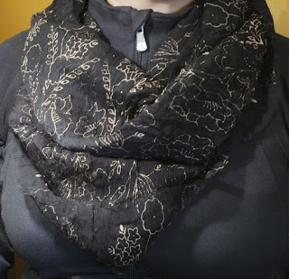 Pink Calico: Infinity Scarf from Skirt
