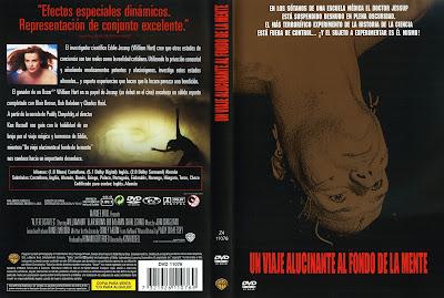 Carátula, Cover, Dvd: Viaje alucinante al fondo de la mente | 1980 | Altered States