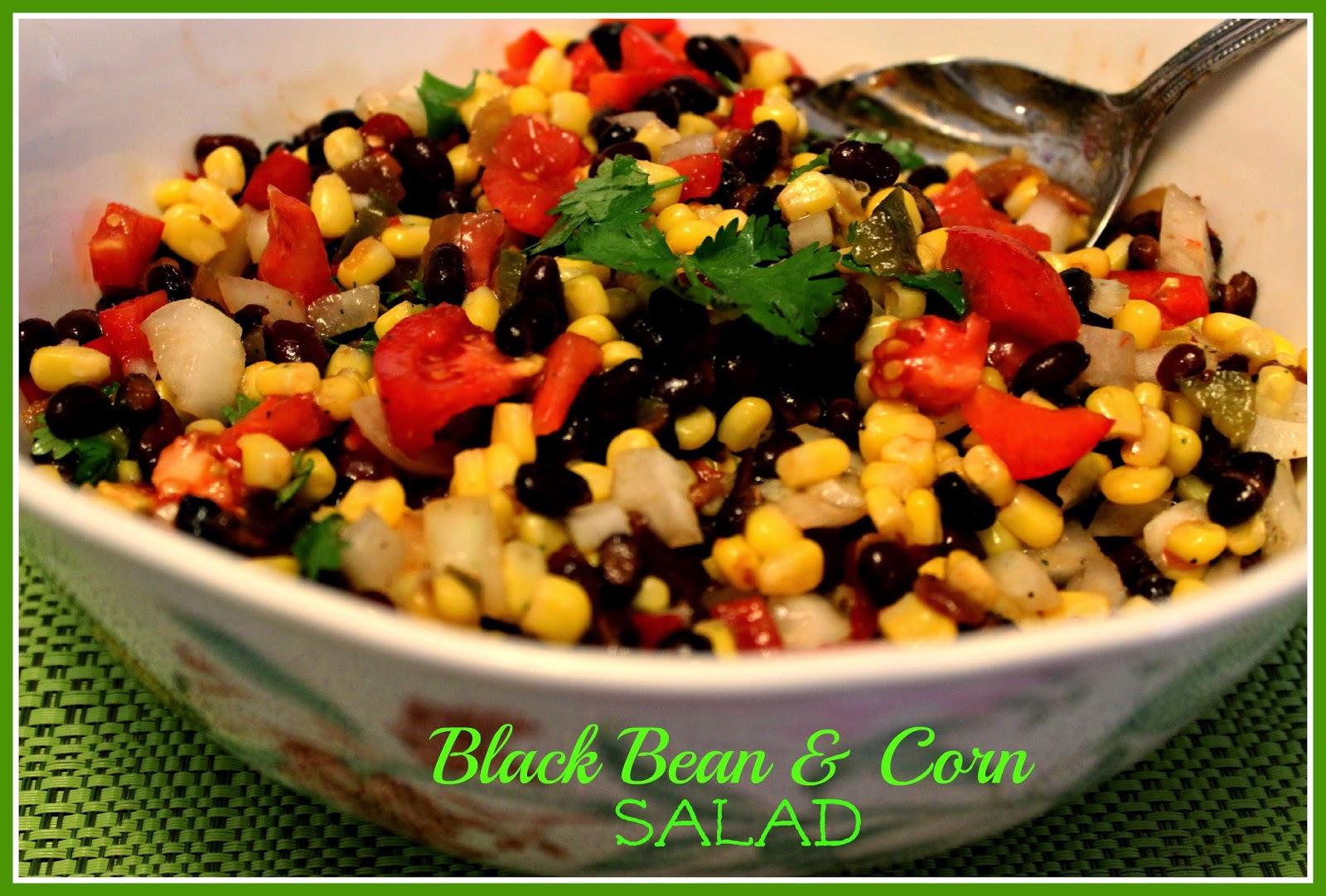 Sweet Tea and Cornbread: Black Bean and Corn Salad!