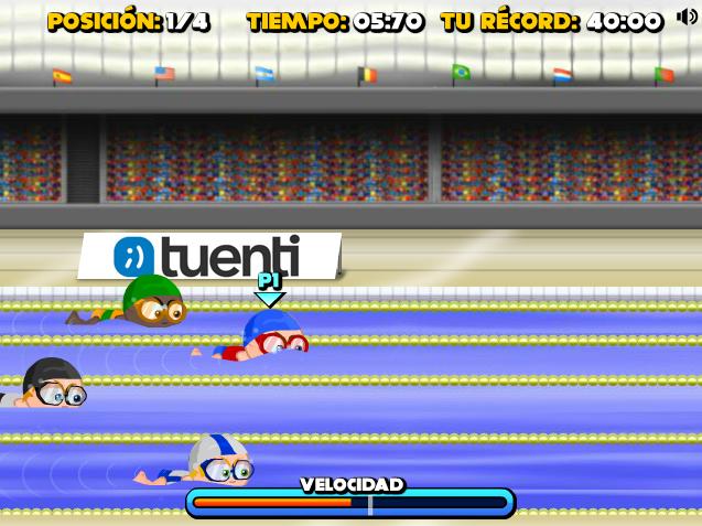 Tuenti Sports Natación 50m