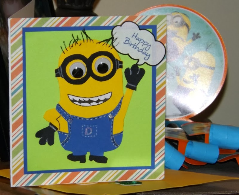 Fairy Cardmaker Minion Birthday Party 8 Yr Old Give A Poem A Home