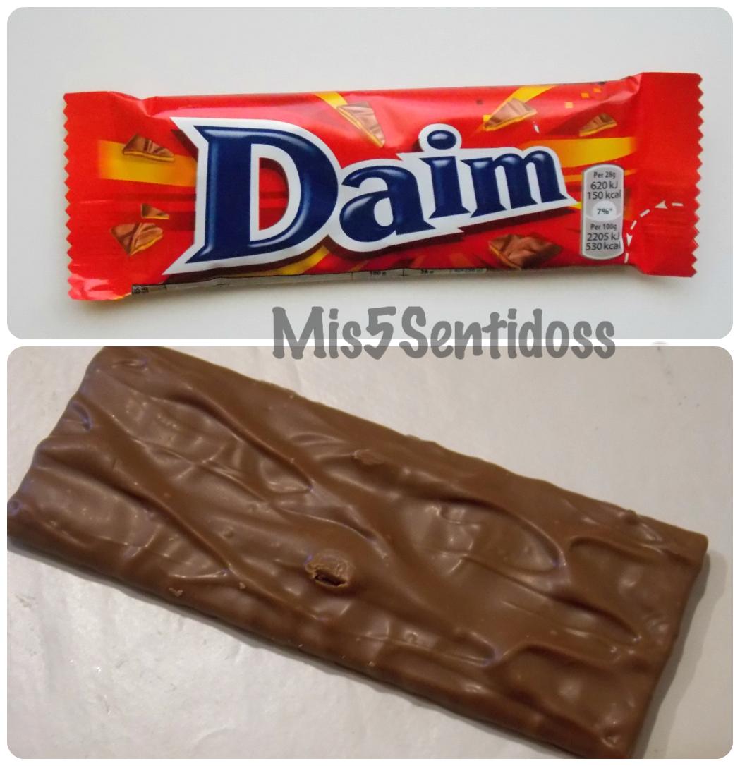 Degustabox mayo 2014 Daim