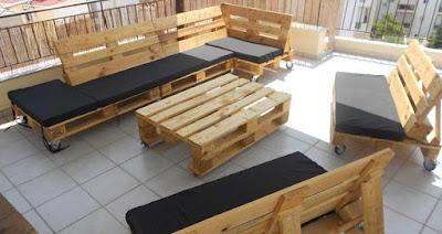 15 DIY pallet patio Sofas Designs