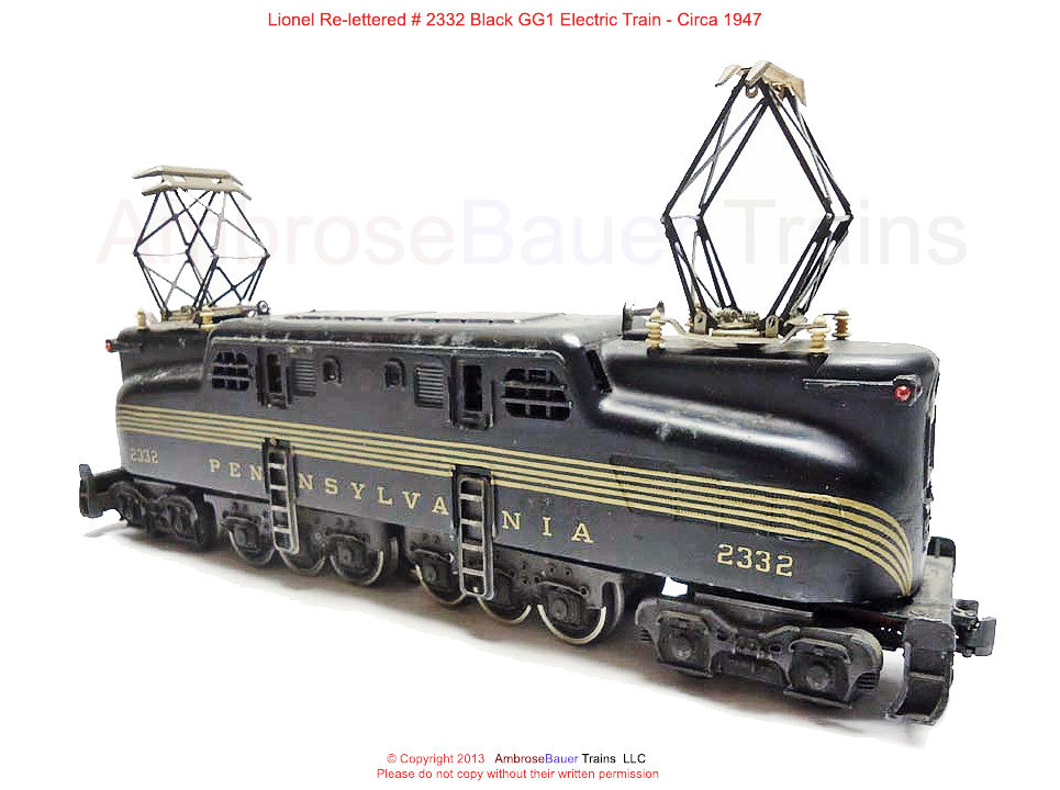 Old Toy Trains : Old antique toys electric models of trains