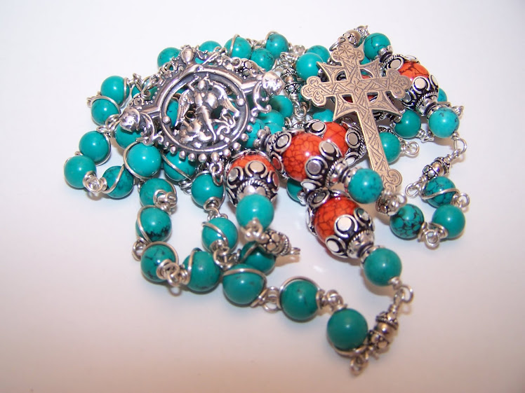 Southwestern Rosary Of St. Michael (Custom Order (SOLD)