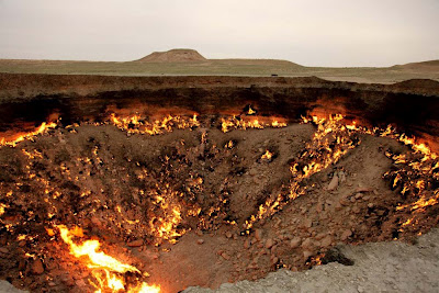The Hell Gate - Darvaza - Turkmenistan