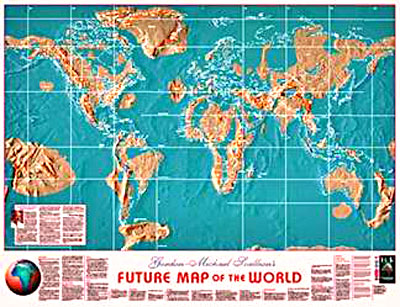 Glorious Hope Soli Deo Gloria Maps Of The Global Coastal - Edgar cayce future us map