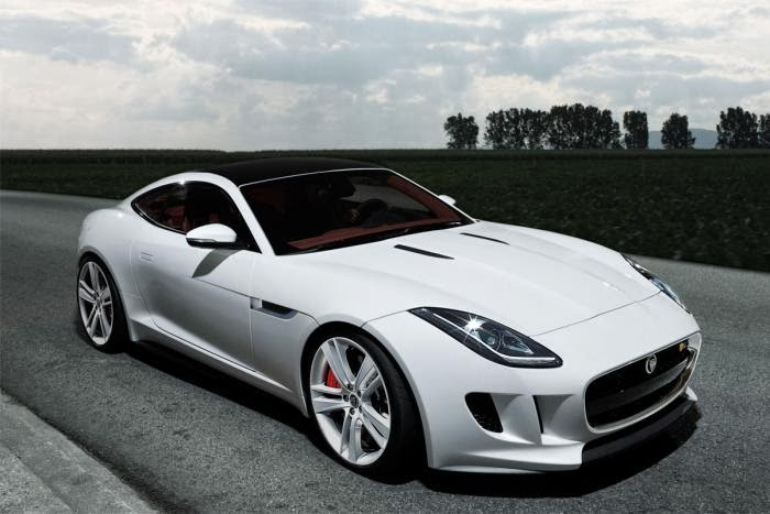 Jaguar f type coupe green - photo#7