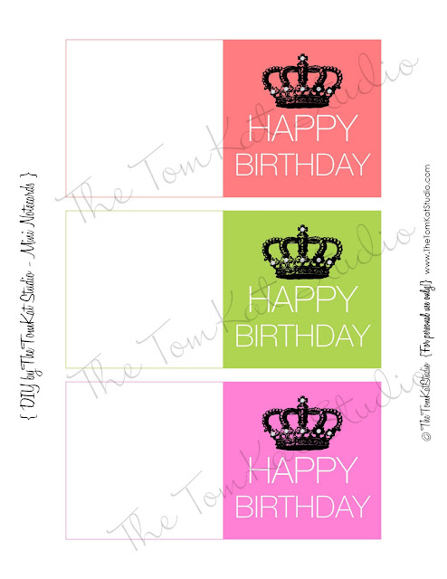 Free printable happy birthday mini notecards the tomkat studio blog are you a fan of tomkat studio on facebook become one here bookmarktalkfo Images
