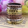 Image: Vintage Wishing Rings (8pcs)