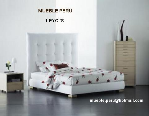 Mueble peru camas y recamaras tapizadas muy modernas - Camas tapizadas modernas ...