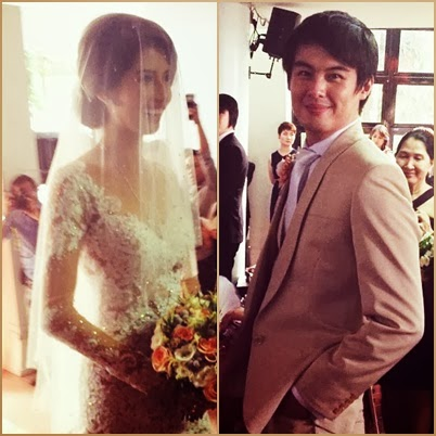 Shamcey Supsud and Lloyd Lee wedding