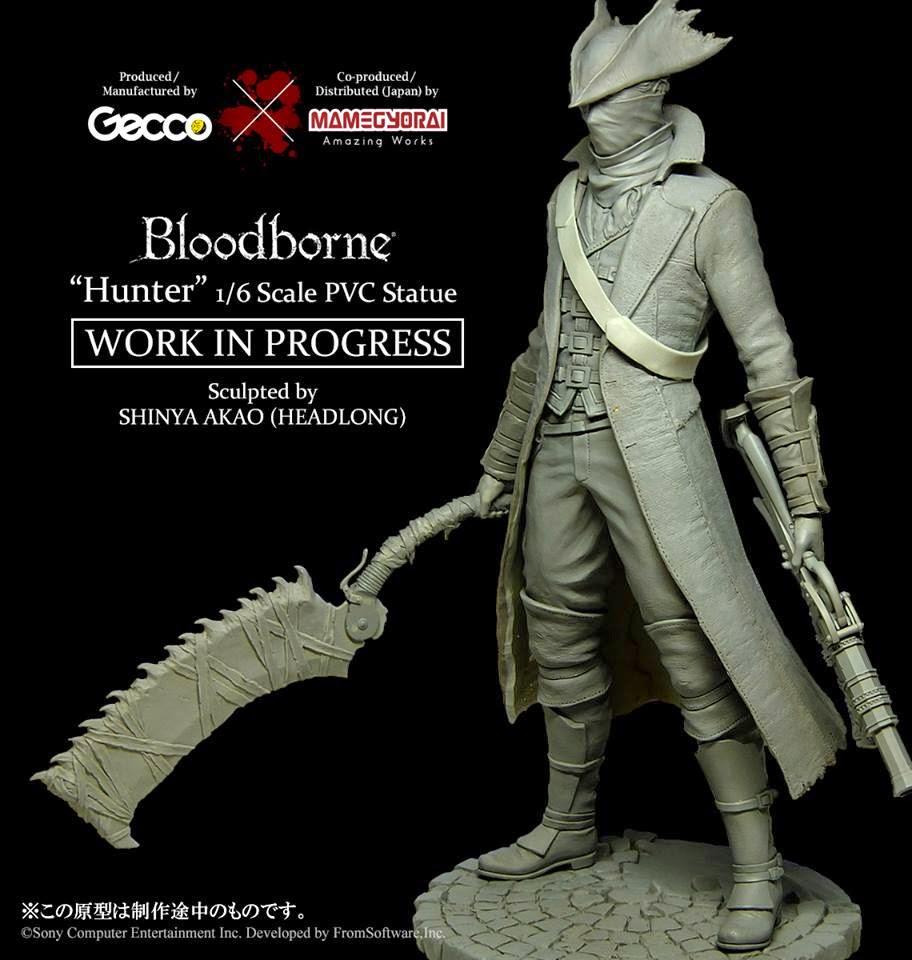 Bloodborne Hunter della Gecco