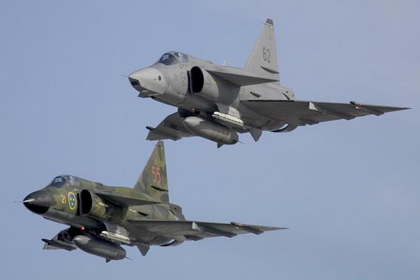 Saab 37 Viggen Attack Aircraft