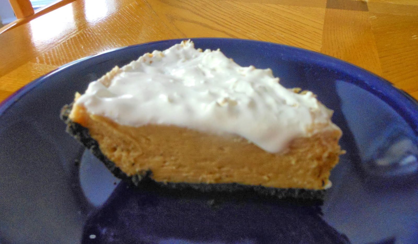 ... & Tales of One New Mommy: Recipe: Chocolate Cookie Crumb Pie Crust