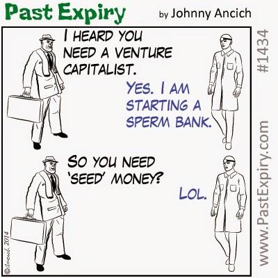 Cartoon about business, doctor, money, millionaire