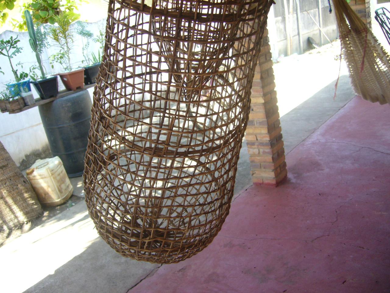 Adesivo De Unha Flamingo ~ Artesanato Indígena Xinguano ARMADILHA DE PESCA