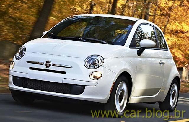 Novo Fiat 500 2012 Flex - Branco