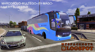 Euro Truck Simulator 2 Bus Mod Indonesia Bis Bluestar