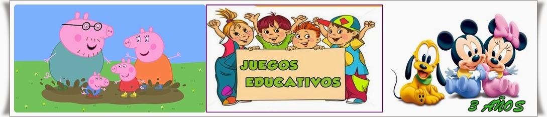 EDUCAJUEGOS 3 AÑOS