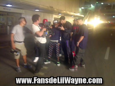 fotos de dj khaled lil wayne drake rick ross en el rodaje del video de i'm on one