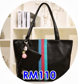 ELEGANT FASHION COLOURFUL SHOULDER BAG 3 WARNA PILIHAN