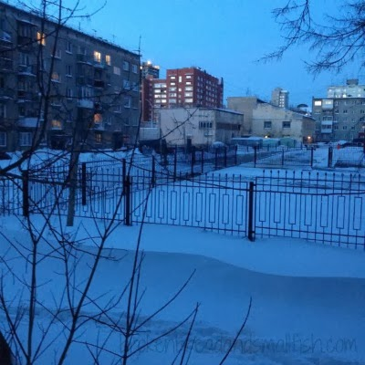 8 am in Novosibirsk in December - My Hysterectomy in Siberia Part 4