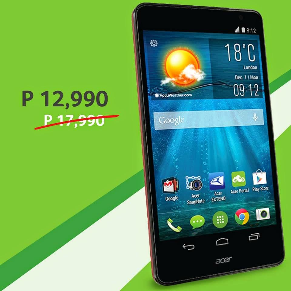 Acer Philippines Smartphones, Acer Liquid X1