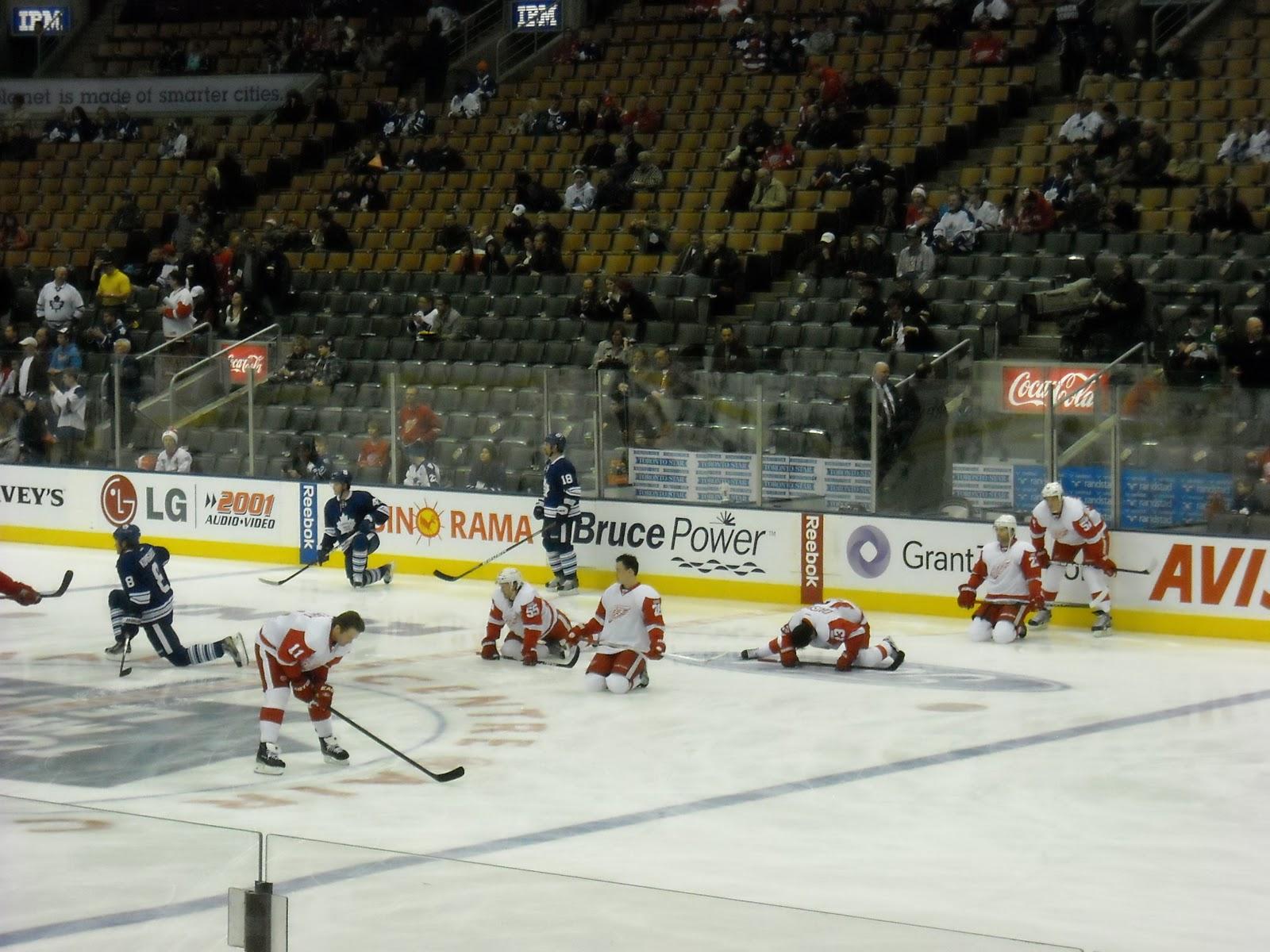 Hockey Then U0026 Now Detroit Vs Toronto Rivalry Night