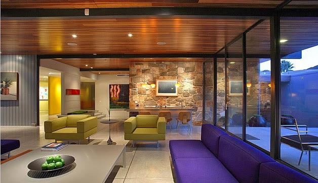 Fotos de la casa que adquirió Leonardo DiCaprio en Palm Springs 1