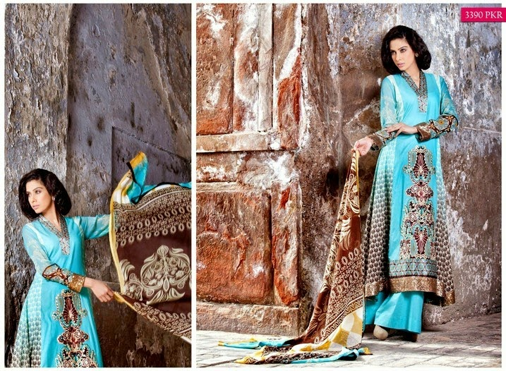 Zeb Aisha Women Summer Dresses 2014