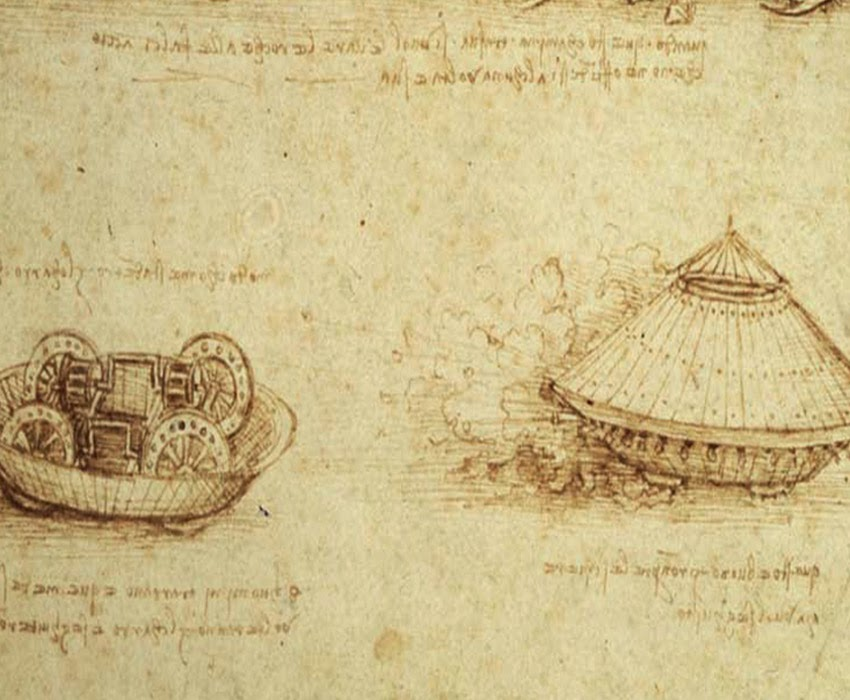 A Picture Of Da Vinci S Tank Design