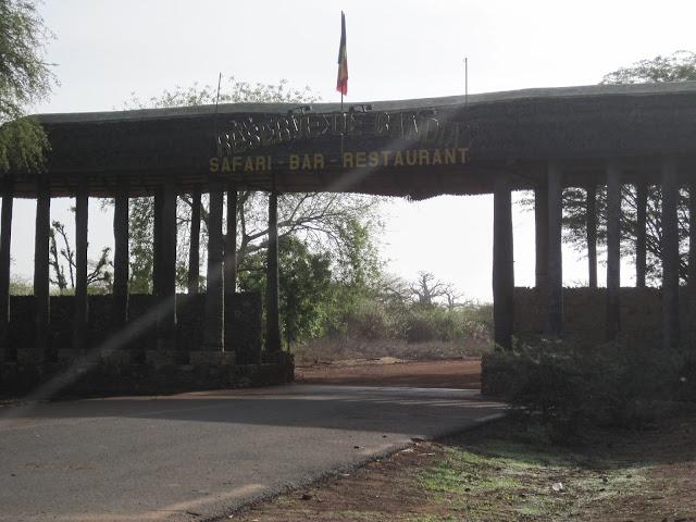 Entrada a la Reserva de Bandia, Senegal