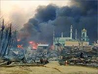 Tentara Burma Menyerang Sebuah Desa Muslim dan Menjarahnya