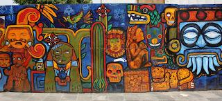 Parte 3 del mural en México DF