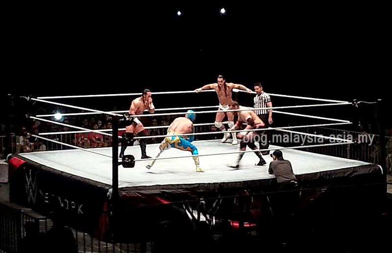 4-Way Match WWE Malaysia