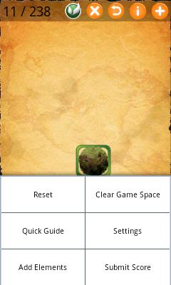 Alchemy Game Menu
