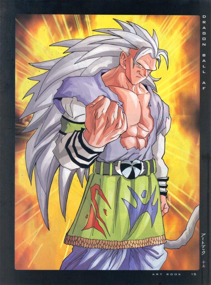 Dragon ball af after the future dragon ball af super - Goku super sayan 5 ...